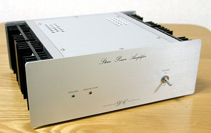 DC Power Amp Front